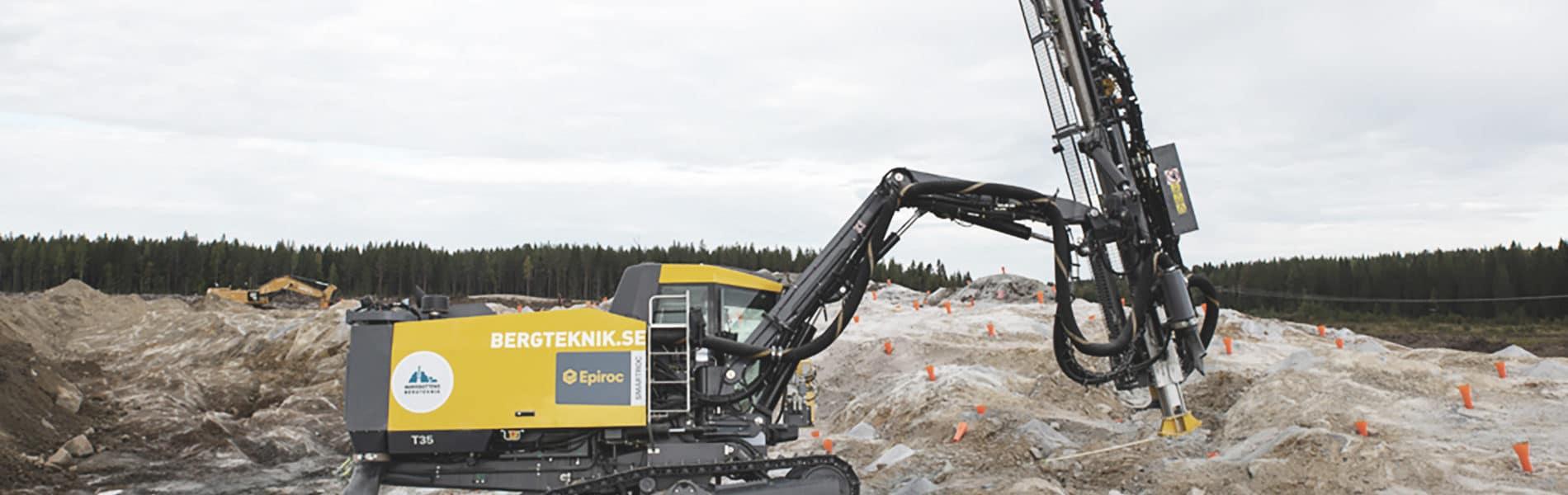nytt affärssystem för Norrbottens Bergteknik